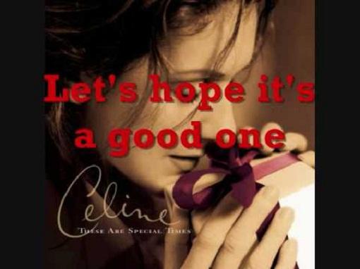 Happy Xmas War Is Over Celine Dion